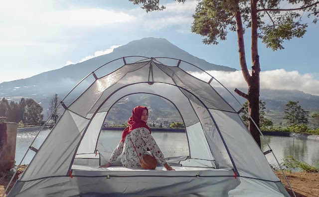 Camping di wisata Embung Kledung