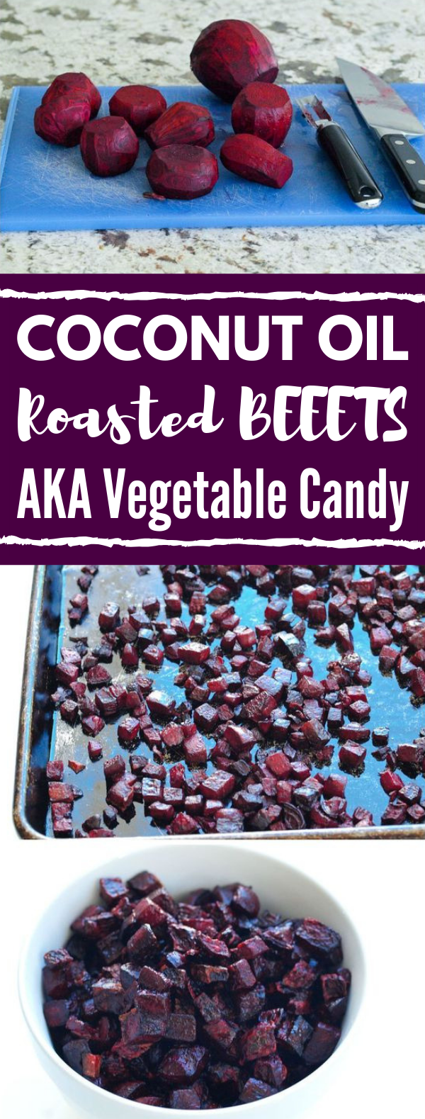 coconut oil roasted beets (aka vegetable candy!) #Vegetarian #HealthyFood