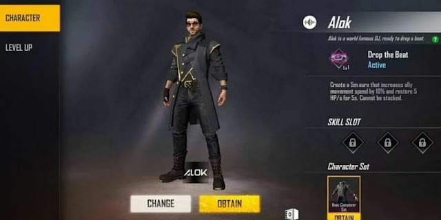 How To Get DJ Alok Character For Free In Garena Free Fire 2021