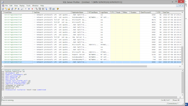 Microsoft SQL Server Profiler 2012