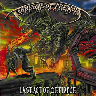 "Το τραγούδι των Seasons of the Wolf ""Be Careful What You Wish For"" από το album ""Last Act of Defiance"""