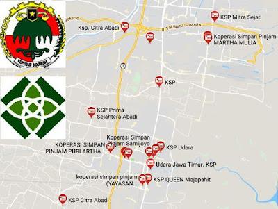 daftar KSP di Sidoarjo Jawa Timur