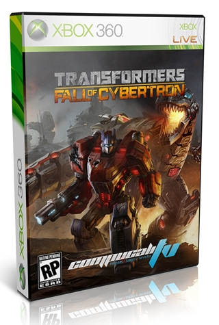 Transformers Fall of Cybertron Xbox 360 Español Region Free 2012 DVD9