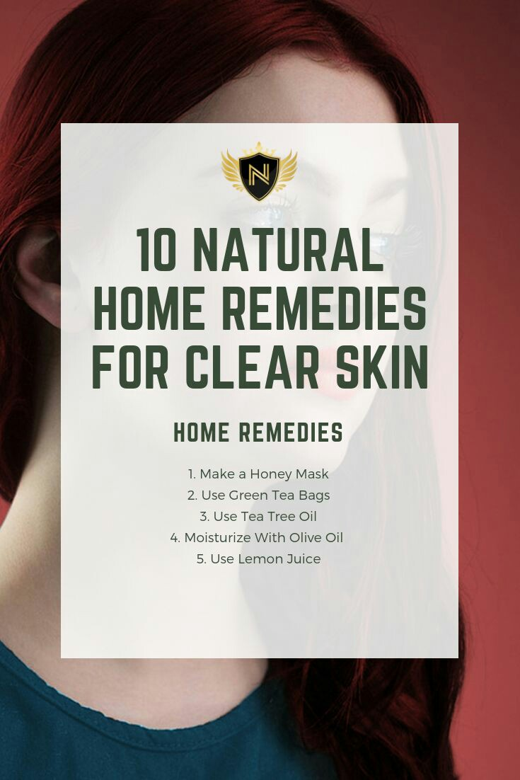 10 Natural Home Remedies for Clear Skin