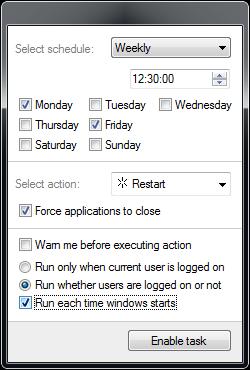 Aplikasi Shutdown PC /  Laptop Otomatis di Windows