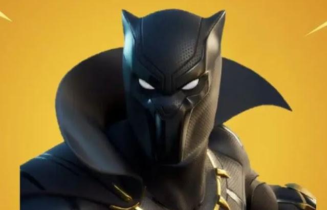 كيف تجيب سكن بلاك بانتر Wakanda Salute Black Panther Fortnite مجانًا