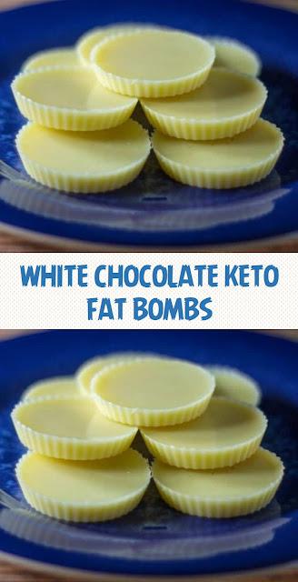 White Chocolate Keto Fat Bombs