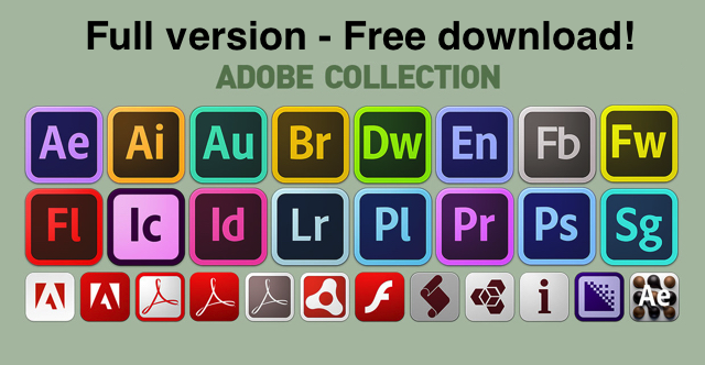 Adobe CS6 Master Collection free download