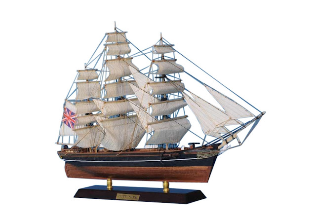 Clipper Cutty Sark Model Ship