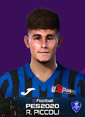 PES 2020 Faces Roberto Piccoli by Sofyan Andri