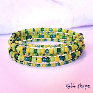 bead pattern ideas handmade stacked bracelets