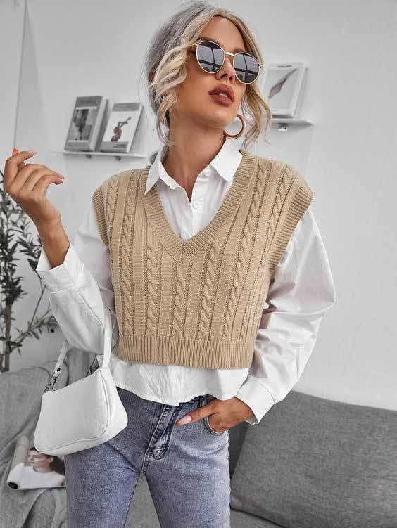 Trend alert: colete de tricô