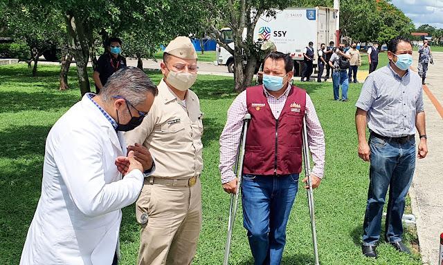Llegan vacunas para los Jóvenes Universitarios Voluntarios de Mérida