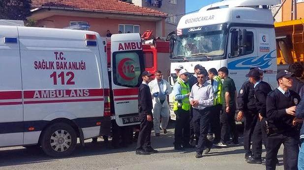 Samandıra'da feci kaza: 1 ölü, 1 yaralı!