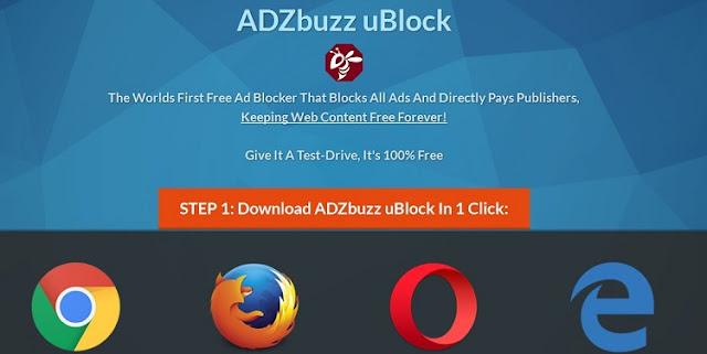 ADZbuzz Ublock Adblocker