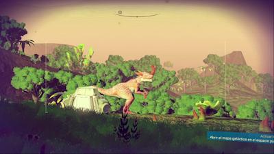 La fauna es realmente variada.