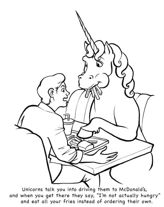 weird coloring pages - photo#5