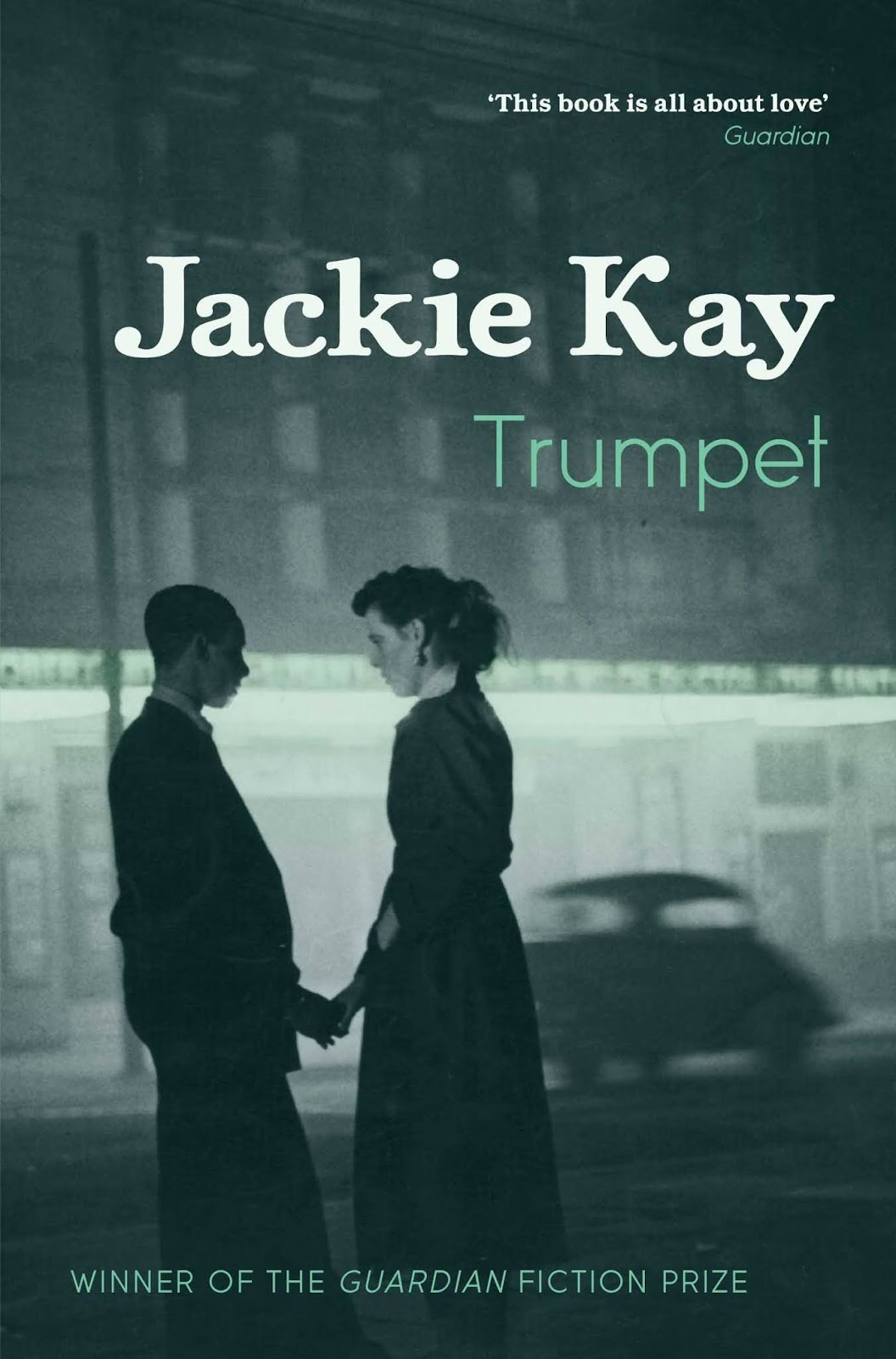 Book cover for Trumpet by Jackie Kay Trumpet in the South Manchester, Chorlton, Cheadle, Fallowfield, Burnage, Levenshulme, Heaton Moor, Heaton Mersey, Heaton Norris, Heaton Chapel, Northenden, and Didsbury book group
