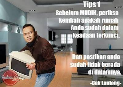 tips 1 pastikan rumah terkunci