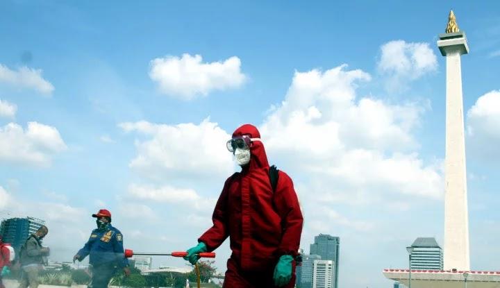 Keras! Media AS: Indonesia Gagal Kendalikan Virus Corona