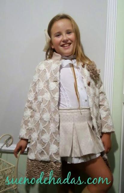 look tonos pastel - tendencias moda infantil Sueño de Hadas
