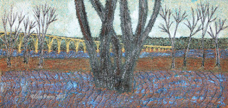 52 Ways to Look at the River, by Sue Reno, detail 2