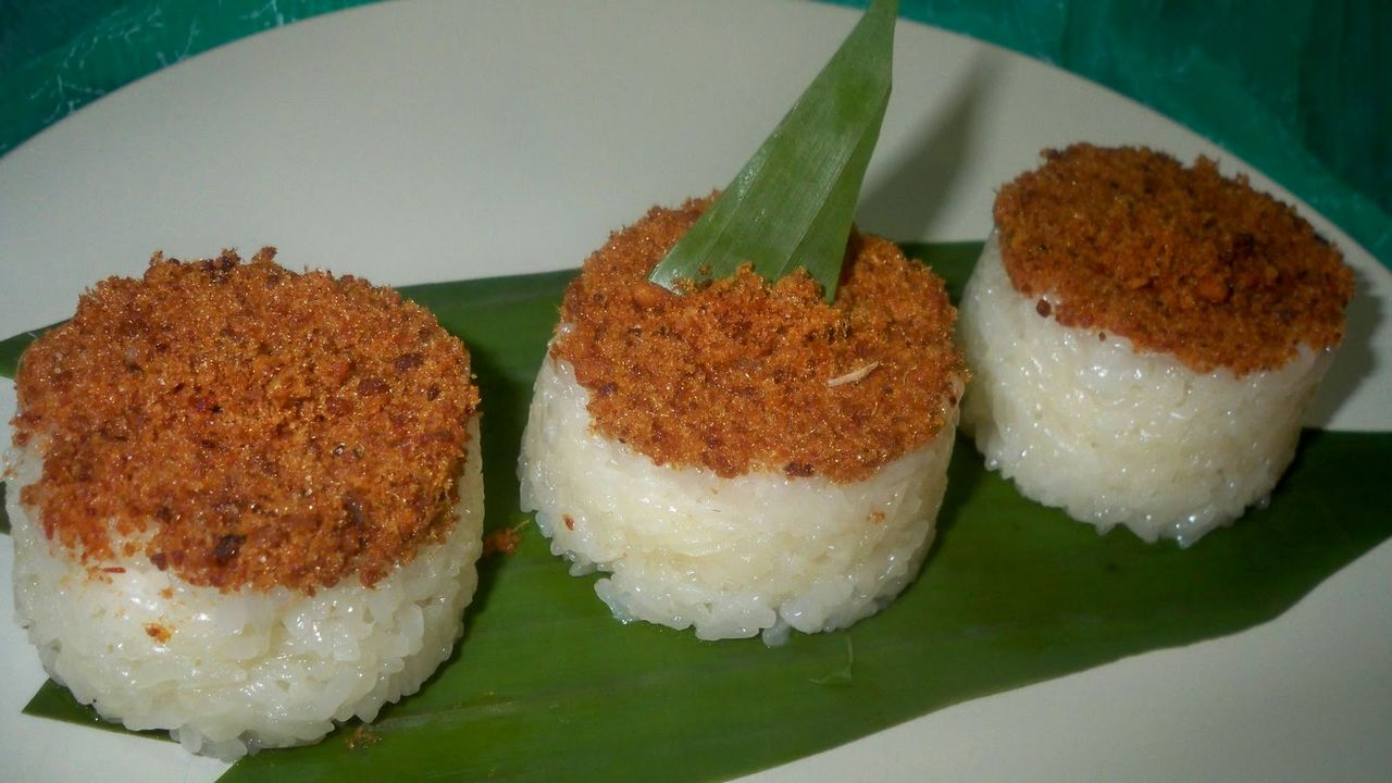 Menu Buka Puasa Ketan Bintul (beniarisandi.blogspot.co.id)
