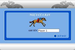 Game đua ngựa cực hấp dẫn