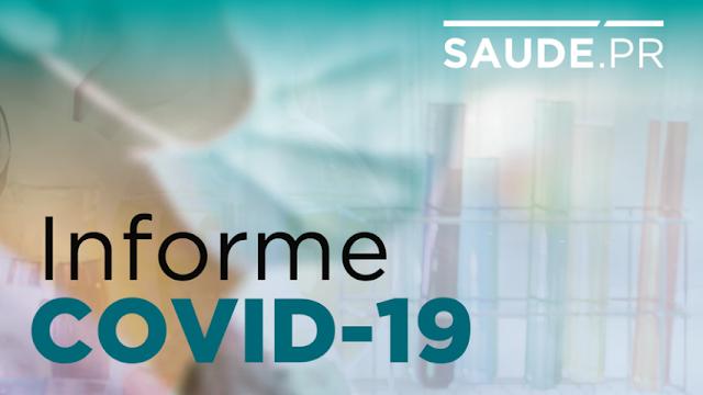 Paraná registra aumento de 2.458 diagnósticos positivos e 47 óbitos pela Covid-19