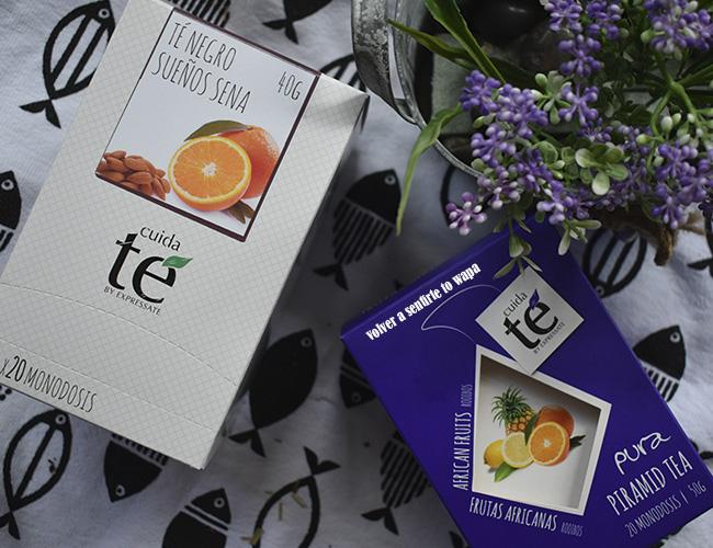Cuida te - infusiones y tés en pirámides