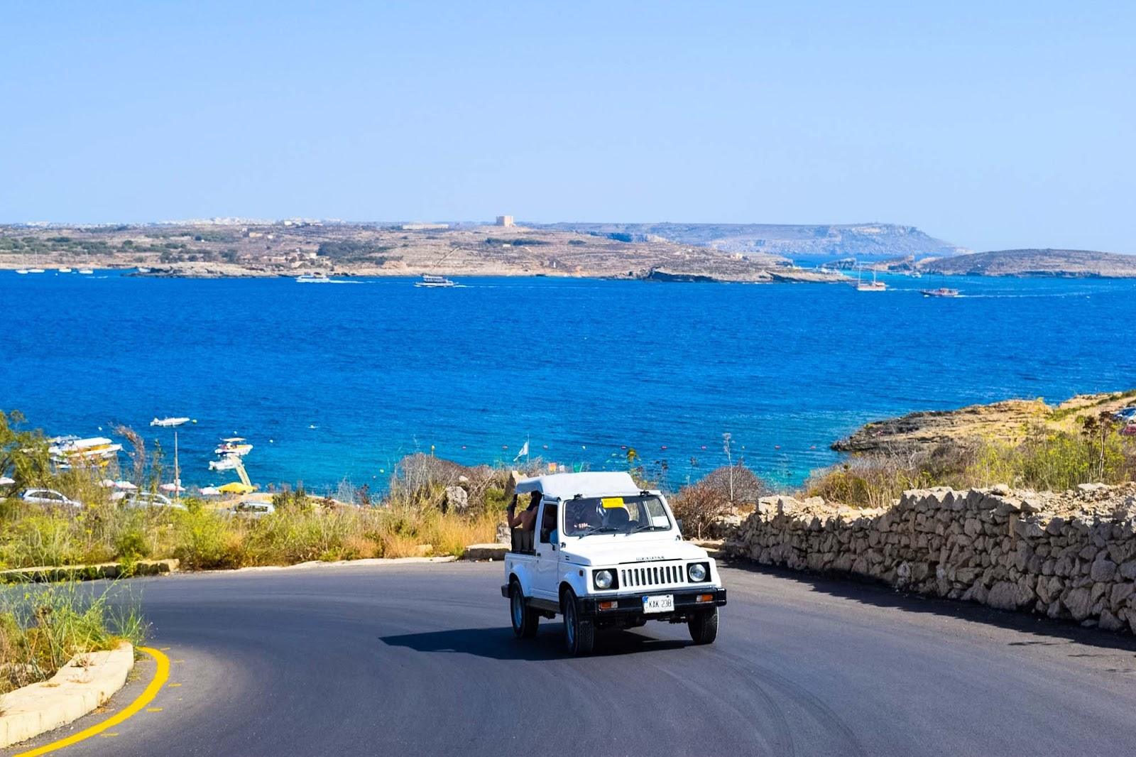 driving around gozo