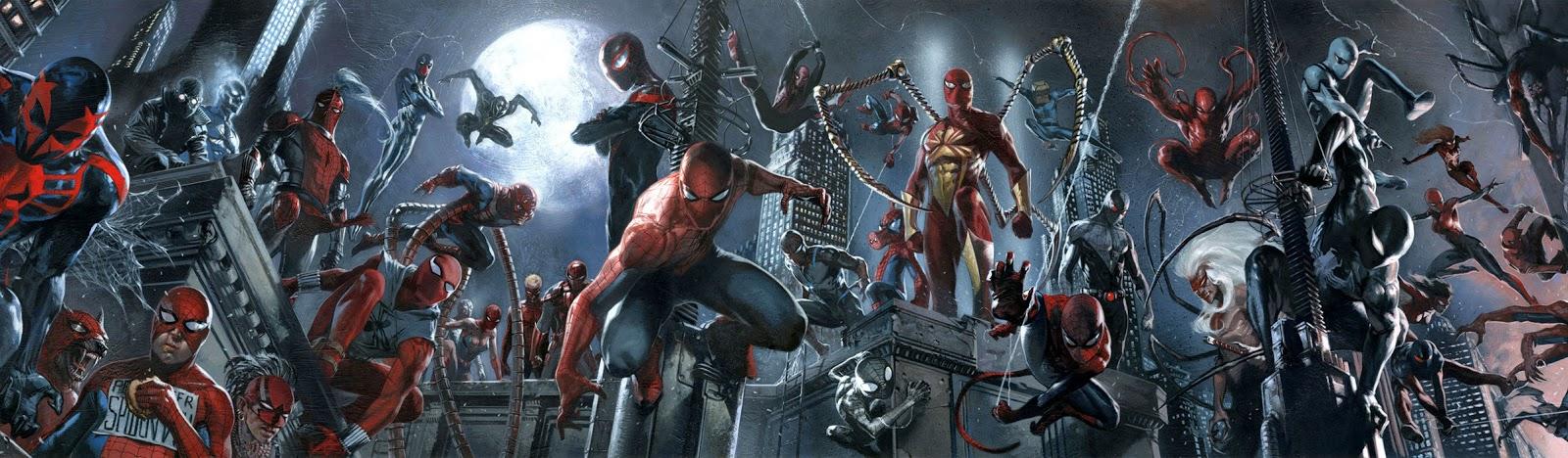 Uniformes do Homem-Aranha ao Longo da História