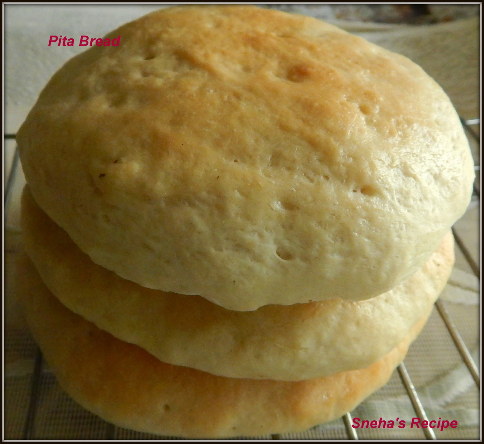 how to make pita bread without yeast and oven