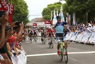 Dong Hyun Shin juara etape 1 ITdBI 2016.