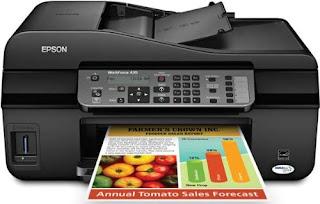 Epson WorkForce 435 Printer Drivers Download