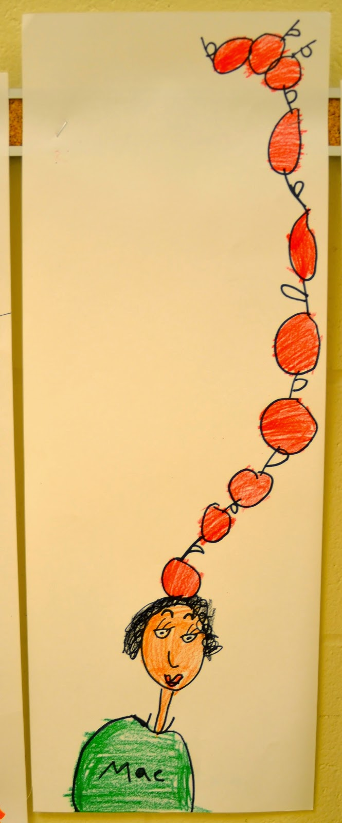Dr. Seuss Ten Apples Up On Top simple craftivity. This Dr. Seuss craft will inspire your little readers. Click for directions for this simple Dr. Seuss craft project.
