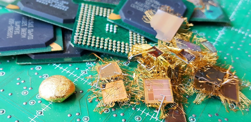 GOLD RECOVERY IC CHIP