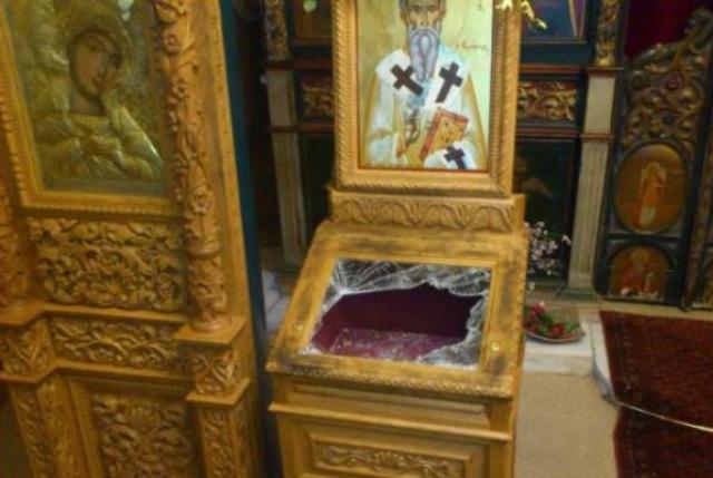 Γιάννενα: Ιερόσυλοι έκλεψαν τον Ιερό Ναό Αγίου Νικολάου στην Οξυά