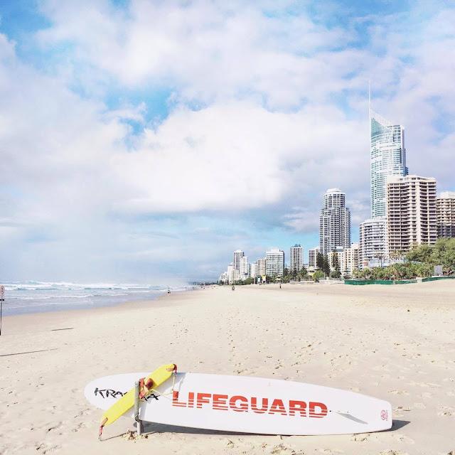 Lifeguard style à Surfer Paradise