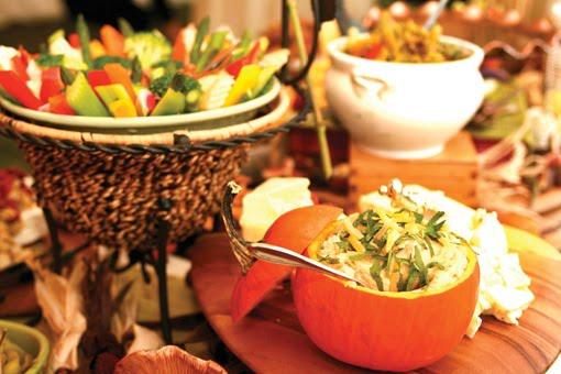 Vermont Bride Magazine: Food, Glorious