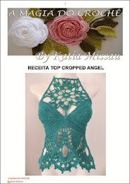Receita Top Cropped Angel