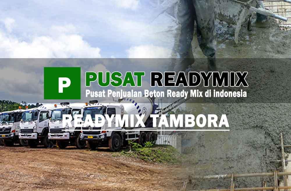 harga beton ready mix Tambora