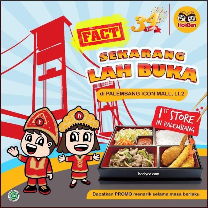 HokBen Buka di Palembang, Ini Fakta!