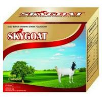 SkyGoat COKLAT Susu Kambing Etawa Bubuk Full Cream | Sky Goat Rasa COKELAT