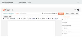 cara membuat blog pribadi dengan benar