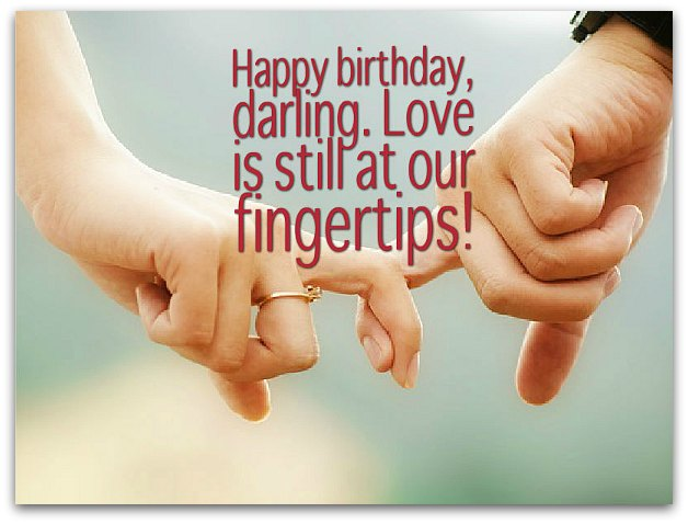 Happy Birthday Wishes To My Husband ~ Cute images of romantic birthday wishes for husband from wife
