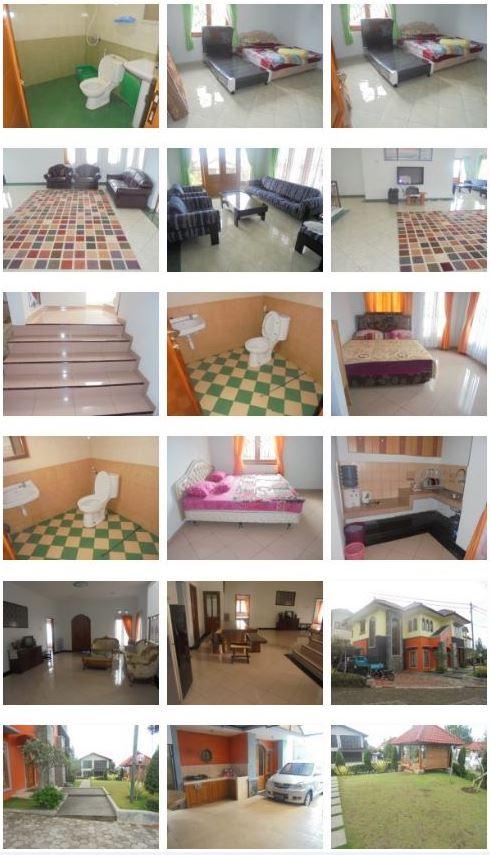 Villa Orange Lembang - Villa 5 Kamar