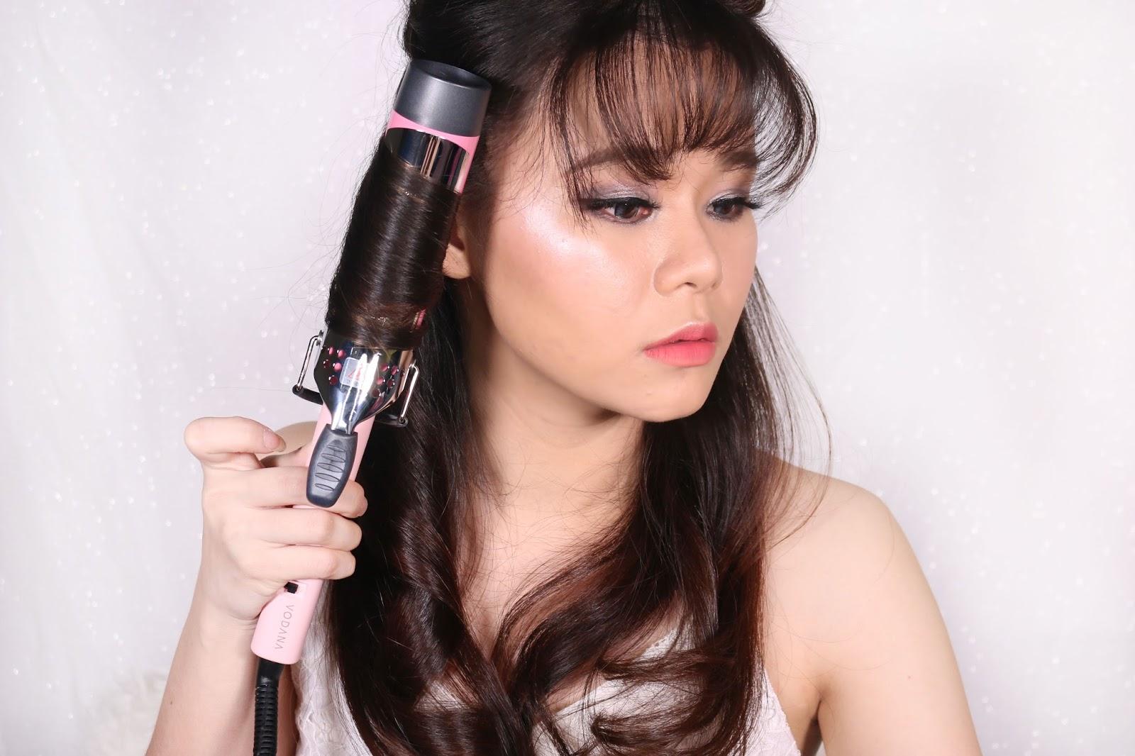 hair, hair style, how to style hair, hair wave, hair styling, tutorial, tutorial menata rambut, vodana, vodana hair diva, vodana glamwave, vodana hair tool