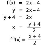 Contoh soal menghitung nilai fungsi invers