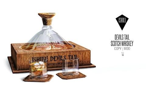 [ ISHIKU ] Devils Tail Scotch Whiskey Dispenser